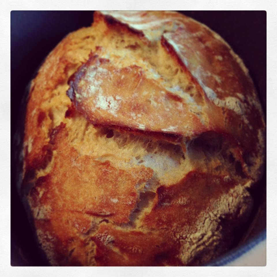 Recette pain magique facile fait maison sans machine - Machine a pain boulanger ...
