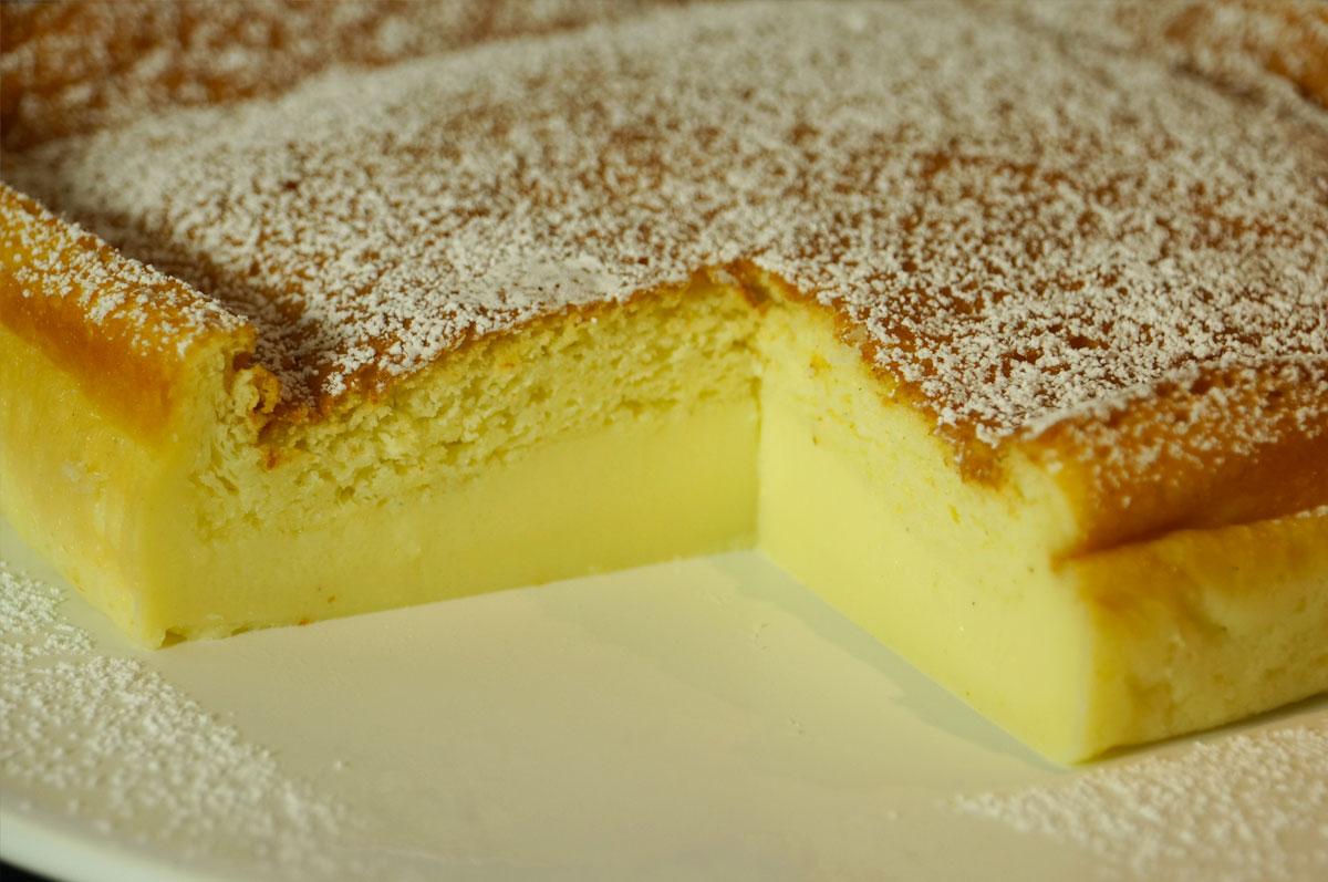 La recette facile du g teau magique la vanille - Cuisine choumicha youtube ...