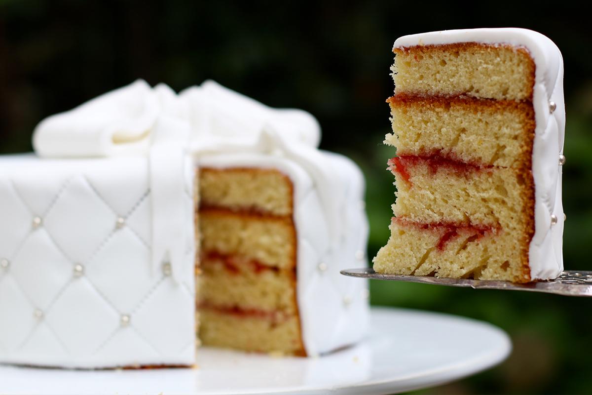 Recette du sponge cake ou g teau ponge pour cake design - Recette mojito fraise pour 10 personnes ...