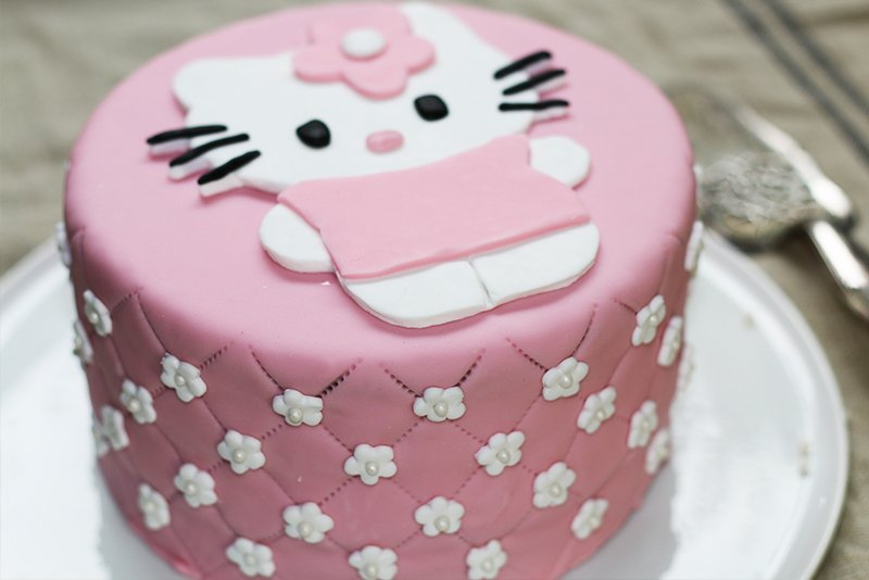 Gateau Hello Kitty Cake Design Hervecuisine Com