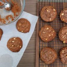 meilleurs cookies chocolat noisette
