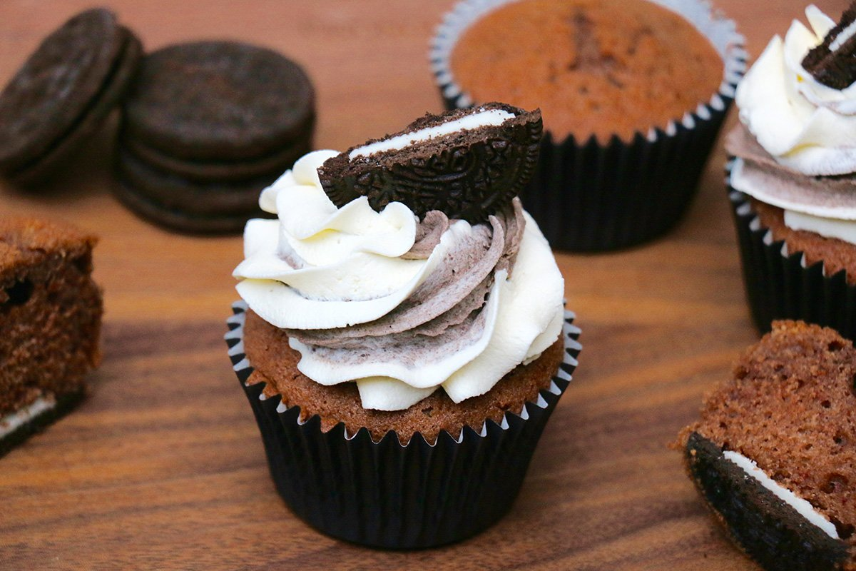 Recette Cup Cake Chocolat Vanille
