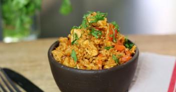 recette du riz au poulet