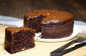 Moelleux au chocolat sans gluten et sans beurre