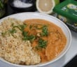 recette du butter chicken vegan