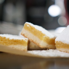 recette lemon square ou carres au citron