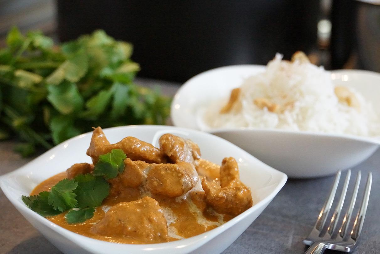 Recette du poulet indien butter chicken cuisine indienne - Herve cuisine butter chicken ...
