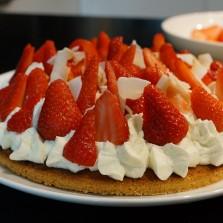 tarte aux fraises herve cuisine