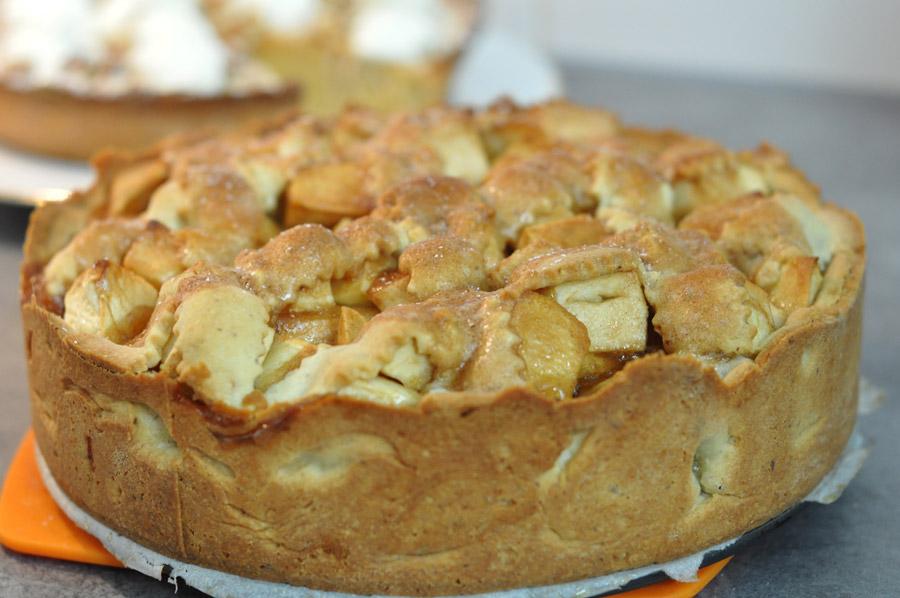 apple pie ou tarte aux pommes gourmande hervecuisine